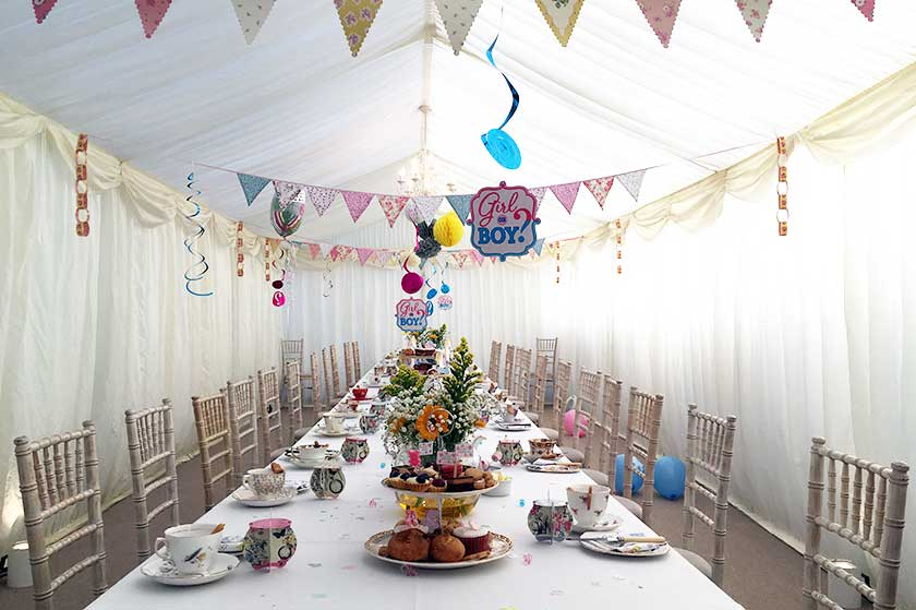 Baby Shower Marquee Marquee Hire Kenton