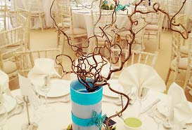 Branches table centrepiece
