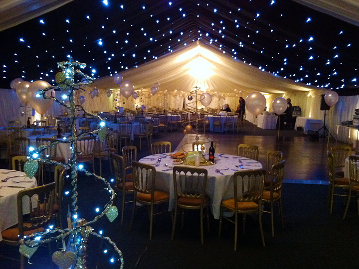 Christmas Party Marquee Marquee Hire Case Study