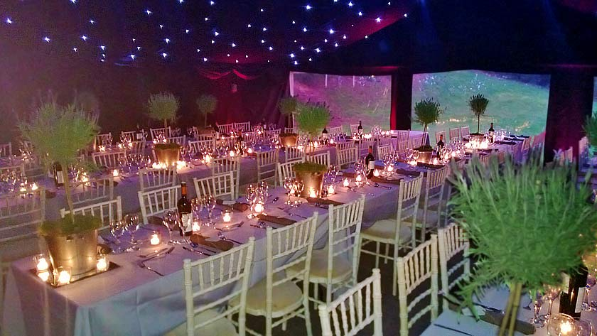 Elegant Party Tent Marquee Hire Farnham Surrey