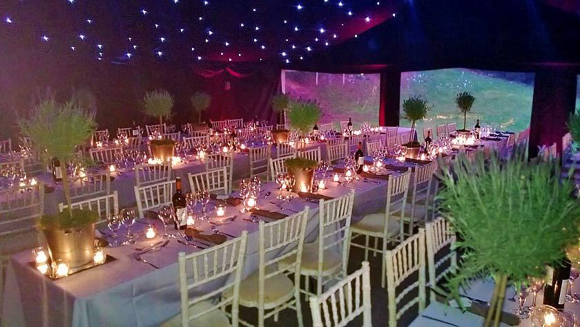 Elegant Party Tent Marquee Hire Farnham Surrey