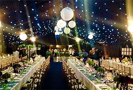 Popular party style marquee