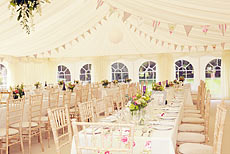 Marquee decoration ideas case studies of real marquees english garden marquee junglespirit Gallery