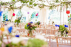 Marquee decoration ideas case studies of real marquees vintage wedding marquee junglespirit Images