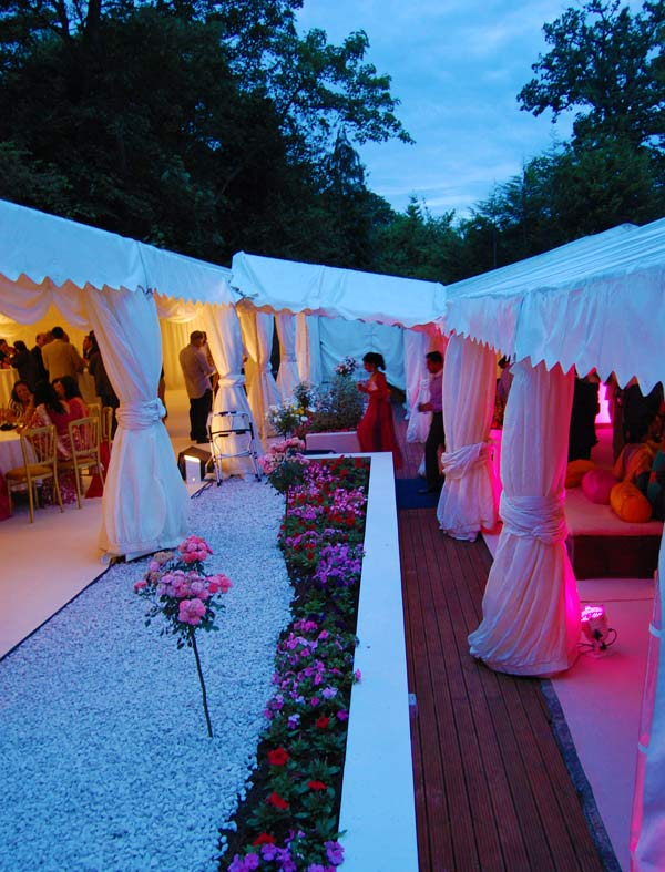 Mehndi Party Marquee : Indian wedding marquee hire stanmore