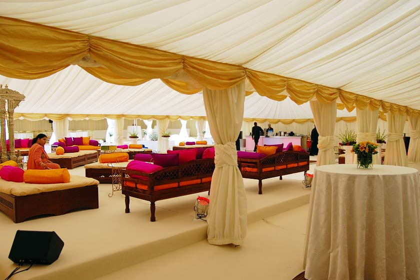 View of multiple marquees : indian wedding tent decorations pictures - memphite.com