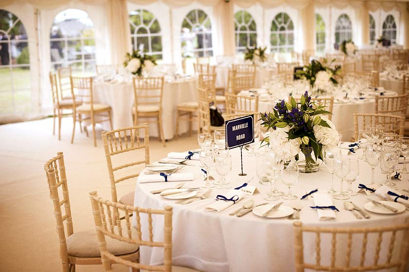 Marquee Wedding Reception Case Study