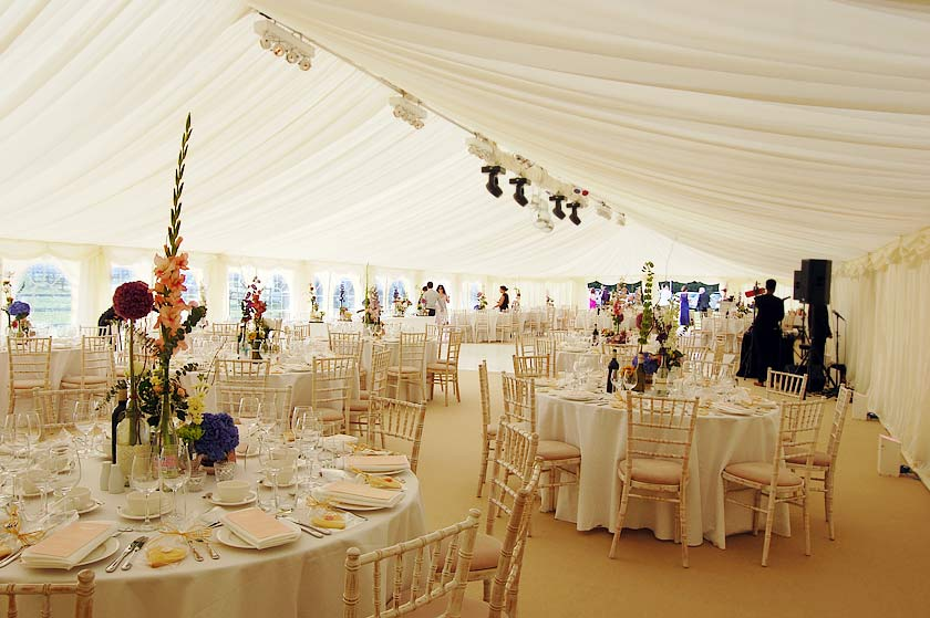 Luxury Marquee Hire Case Study Of A Classy Wedding Marquee