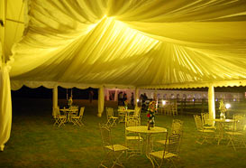 Colour changing marquee lighting