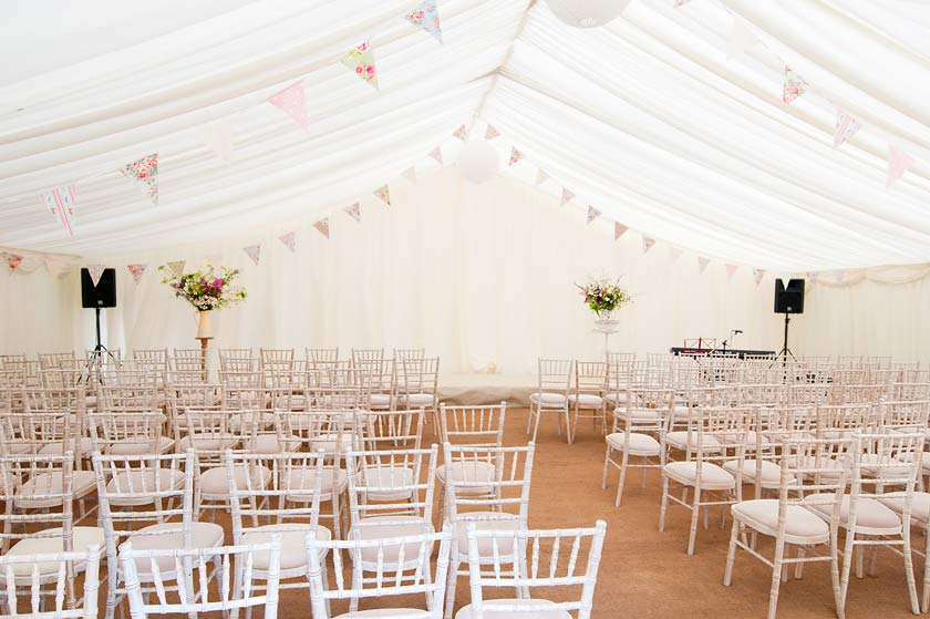 Relaxed Wedding Party In A Marquee Marquee Hire Highgate