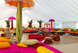 Indian style marquee