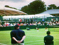 Sports marquee event at Wimbledon