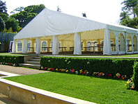 Large clear span marquee
