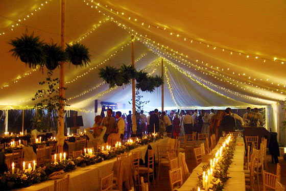 Impressive marquee lighting effects