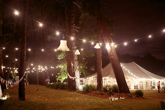 Outdoor marquee lighting