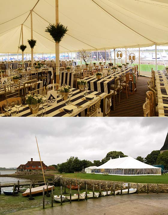 Traditional Wedding Tent County Marquees