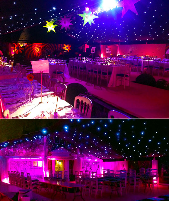 Fun party marquee