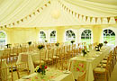 Pretty wedding marquee