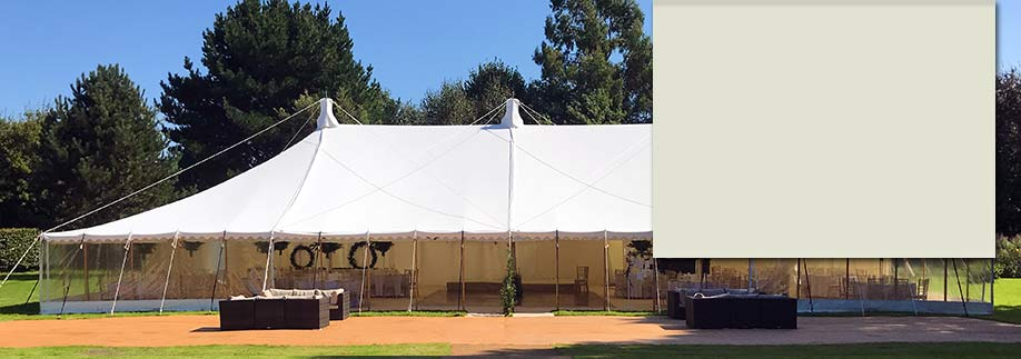 Large frame marquee