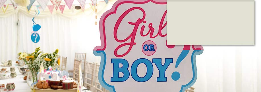 Baby shower marquee