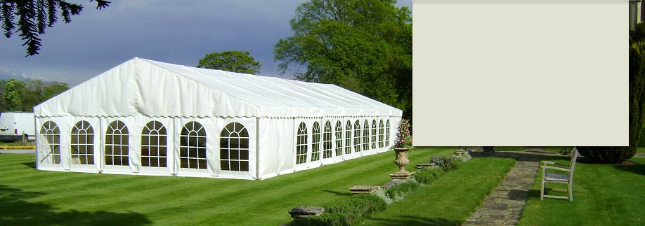 Marquee hire from County Marquees
